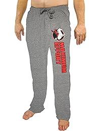 Marvel Comics Deadpool Riding A Unicorn Gray Sleep Lounge Pants 07021df1f