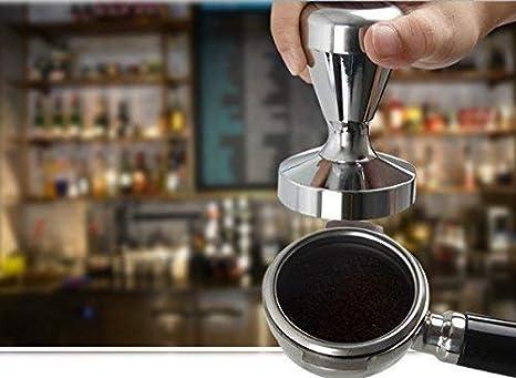 Café Tamper PoignéE en Bois Barista Espresso Machine Grinder 51Mm pour Café ntr