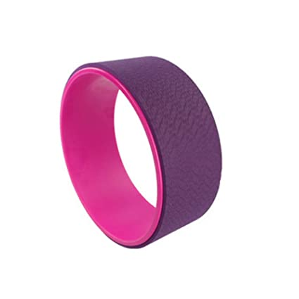 DOS Yoga Wheel Rueda 33cm de Rollo para Yoga para la ...