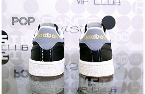 REEBOK - Herren- Club C 85 Retro Gum schwarz für herren