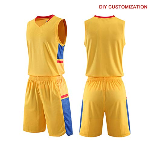 ab8449a6c70 Basketball Jersey Sports Shirt Uniform Set for Adults Elite Training  Presentation Suit