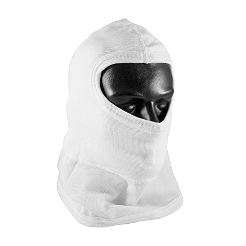 PIP 202-112 Double-Layer Nomex Balaclava Head Protection with Bib, Full Face (Layer Balaclava)