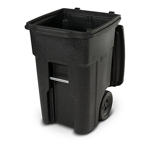 Toter 48 Gal. Wheeled Blackstone Trash - 30 Gallon Trash Can Decorative