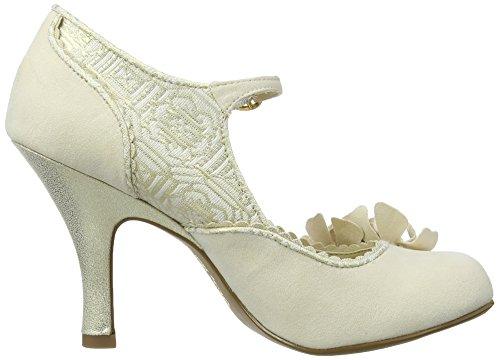 Ruby Cream Emily para De Zapatos Shoo hombre Tacón Bianco arwBaq