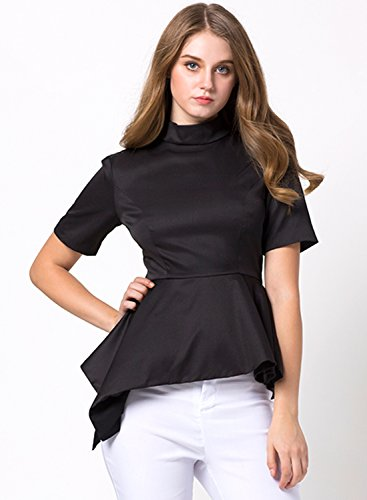 Azbro - Camisas - relaxed - para mujer negro