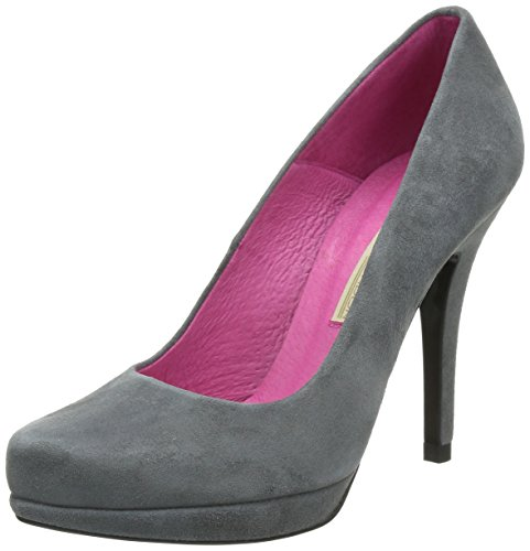 Pumps Grau 177 Bl Kid Women's Suede Buffalo Plateau 9669 London Grey193 tqpwnzxx78
