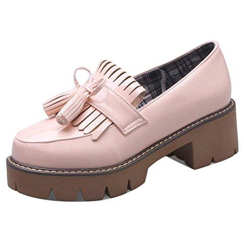 COOLCEPT Damen Pumps mit Absatz Pink