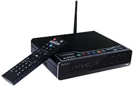 KDLINKS A400 4K Android Quad Core 3D Smart H.265 HD TV Media Player with HDD Bay, WiFi, Dolby 7.1, Gigabit LAN, 2GB RAM, 16GB Storage, 4 Core CPU, 8 Core GPU