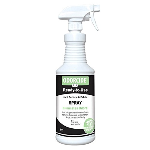 Image of Odorcide 210S-FS Fresh Scent Ready-to-Use Spray Pet Odor, 32 oz