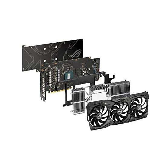 ASUS ROG Strix GeForce GTX 1660 Ti 6GB Overclocked Edition VR Ready HDMI 2.0 DP 1.4 Auto-Extreme Graphics card (STRIX… 41l8M mIuJL. SS555