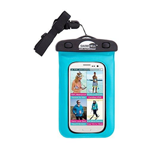 Slim Sports Belt for Samsung Galaxy Note 4 (Light Blue) - 8
