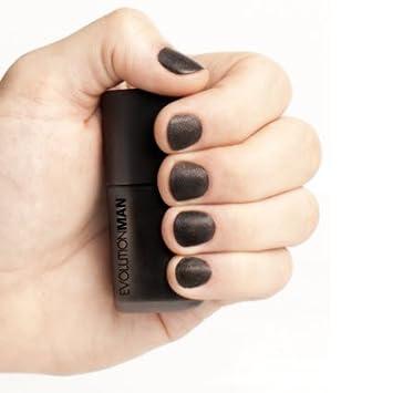 Amazon Com Evolution Man Nail Paint 3d Black Nail Polish And
