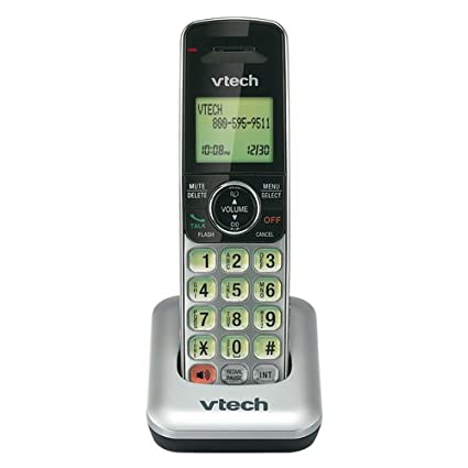 amazon com vtech cs6409 accessory cordless handset for cs6419 rh amazon com VTech Flip for Phonics vtech cs6229 2 manual