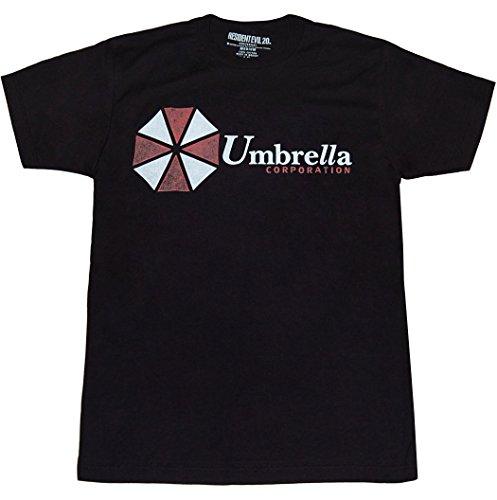 Resident Evil Umbrella Corporation Logo T-Shirt-XX-Large