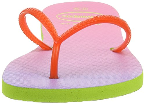 Sandalias Lime Flat para Strawberry Sunset mujer Green Havaianas wEXq7dBE