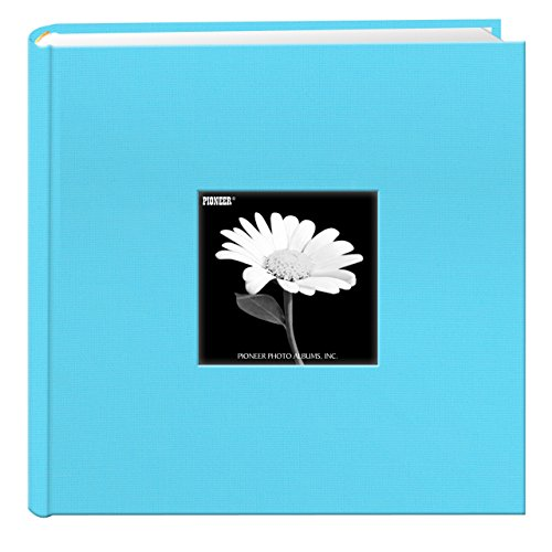 Holds 200 Photos - Pioneer Photo Albums Holds 200 Photos, Turquoise Blue, 4