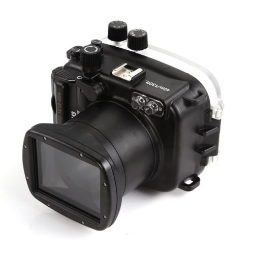 CameraPlus 40M Waterproof Diving Housing for Canon EOS M3 with 18-55 Lens by Cameraplus