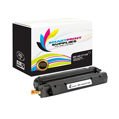 Smart Print Supplies Compatible 15X C7115X Black High Yield Toner Cartridge Replacement for HP Laserjet 1200 1220 1000 3300 3330 Printers (3,500 Pages) ()