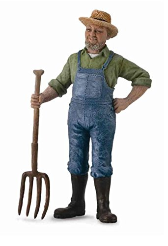 Collect A Farm Life Male Farmer Toy Figure