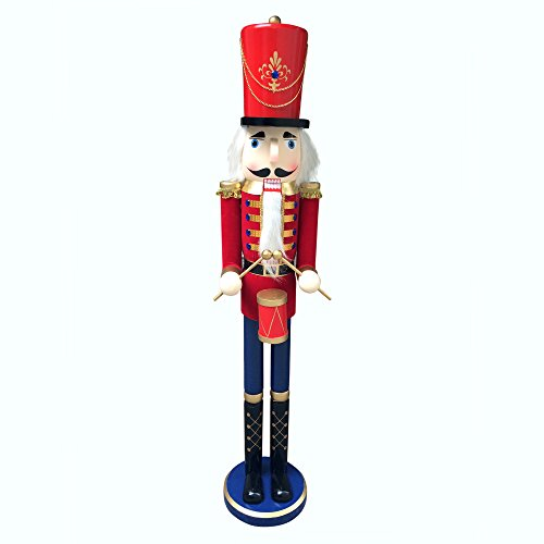60 Inch Deluxe Nutcracker Drummer Soldier by Jeco Inc.