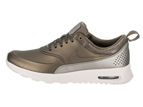 Weiblich metallic Field summit Air Schuhe Nike Field Women White Metallic Thea Premium Max UdqqxBvR