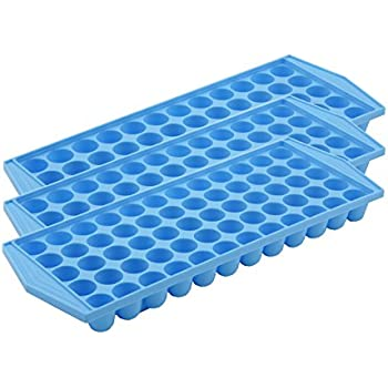 Makes 60 barrel shaped mini cubes. Ideal for cocktails and soft drinks. Frost blue. PACK OF 3.
