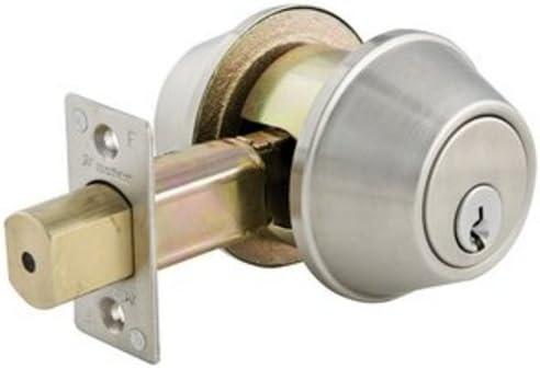 Master Lock DSC0732DKA4 Commercial Double Cylinder Deadbolt Satin Chrome