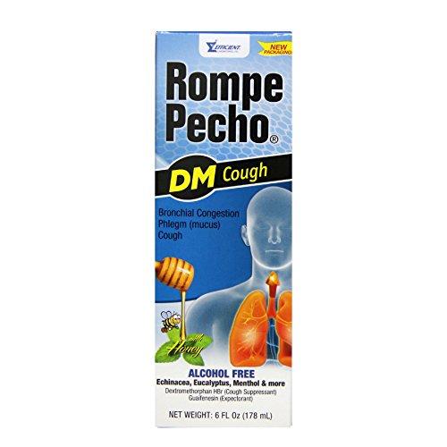 Rompe Pecho Dm 6oz (Syrup Cough Rompe Pecho)