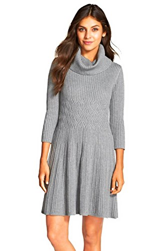 Eliza J Fit Flare Sweater Dresses Women | Cute Cowl Neck Sweater Dresses Women