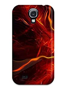 Excellent Galaxy S4 Case Tpu Cover Back Skin Protector Digital Art