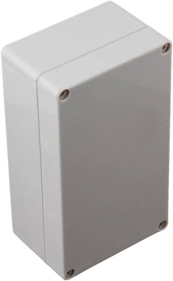 BQLZRN25806 Gris//blanc Blanc Gris Plastique /étanche projet de bo/îte de d/érivation avec vis