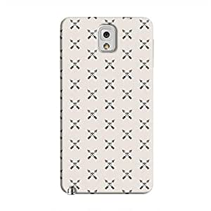 Cover It Up - Crossed Arrows Galaxy Note 3Hard Case