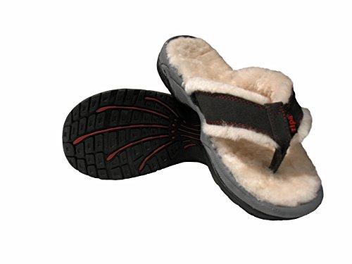 Ripa Man / Dam Himalayan Shearling Toffel Sandal Skiffer