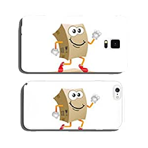 Delivery mascot. Shipping concept design vector. cell phone cover case Samsung S6