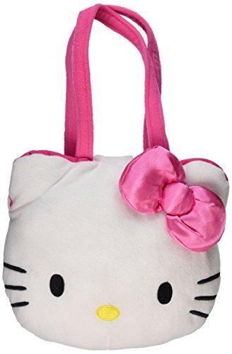 Hello Kitty Plush Head - Hello Kitty 9 Plush Head Handbag Purse Embroidery