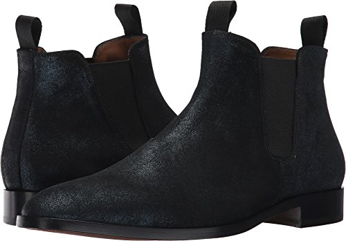 Marc Jacobs Mens Shimmer Chelsea Boot Midnight Teal
