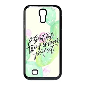 Customized SamSung Galaxy S4 I9500 Case, CACTUS quote Cheap Cover Case