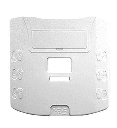 ICC ICC SURFACE MOUNT JACK, 6P6C, WHITE electronic consumers