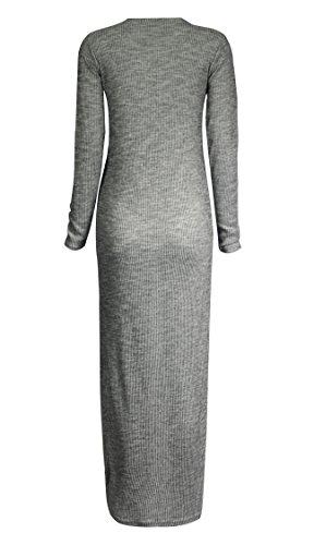 Fast Fashion - Cardigan Manches Longues Petit Ami Plaine Maxi Ouvert Long - Femmes C?tel