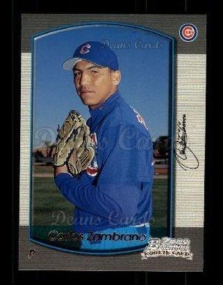 426cdfd3284 2000 Bowman   303 Carlos Zambrano Chicago Cubs (Baseball Card) Dean s Cards  8 -