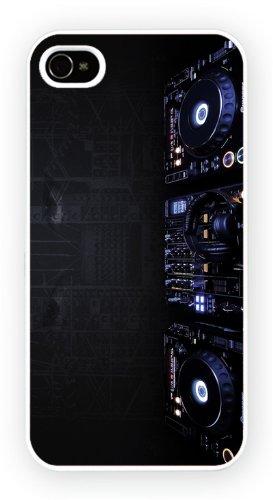 Dj Turntables Art Design, iPhone 6+ (PLUS) cas, Etui de téléphone mobile - encre brillant impression
