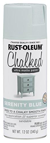 Rust Oleum 302595 Chalked Paint Serenity