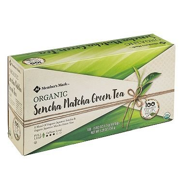 Member's Mark Organic Sencha Matcha Green Tea (100 ct.) (pack of 6) by Member's Mark