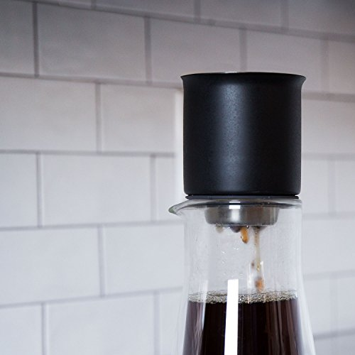 Fellow Stagg [XF] Pour-Over Brewing Set for Coffee (Includes Stagg [XF] Pour-Over Dripper with Ratio Aid, Stagg Double Wall Glass Carafe, and 20 Paper Filters) by Fellow (Image #4)