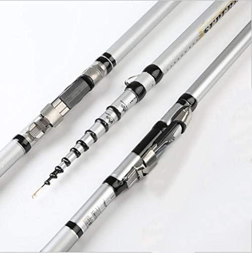 ZFF ポータブル 釣り竿 カーボンポジショニング 超軽量 超硬 伸縮 海釣り 74cm