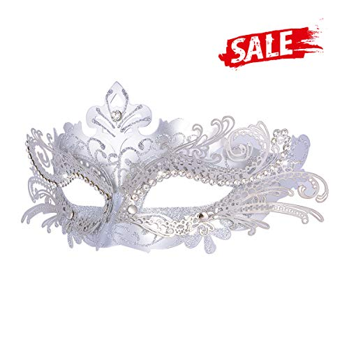 (Hoshin Masquerade Mask, Mardi Gras Deecorations Venetian Masks for Womens)