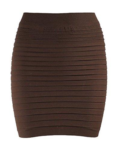 Ro Rox High Waist Stretch Bodycon Mini Skirt UK 6-12