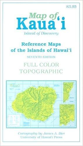 Map Of Kaua I University Of Hawaii System Press 9780824828622