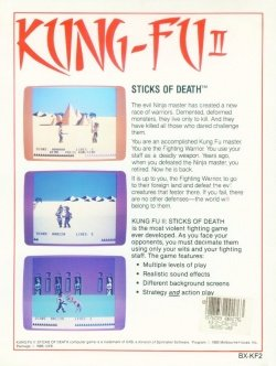 Kung Fu II: Sticks of Death