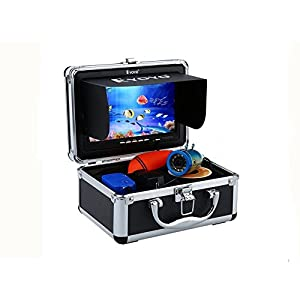 "Eyoyo Original 50m Professional Fish Finder Underwater Fishing Video Camera 7"" Color HD Monitor 1000TVL HD CAM Infrared Light"
